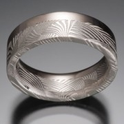 Palms Damascus 33_66 Ring 18kpw
