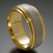 Rigil Kentaurus Meteorite Ring with 18ky