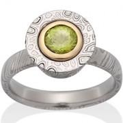The Hannah Ring with Peridot