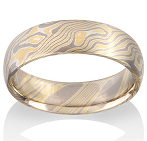 stonebrook products gold gane custom ring rings mokume style made and rose damascus shakudo